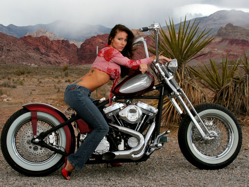 a motorcycle chicks  millecavalli LIFESTYLE: Chicks